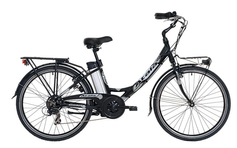 Bici a pedalata assistita unisex atala ecoway motore for Bici elettrica assistita