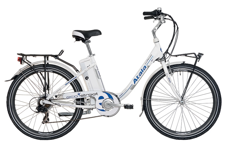 Bici A Pedalata Assistita Unisex Atala Ecostreet Motore Brushless