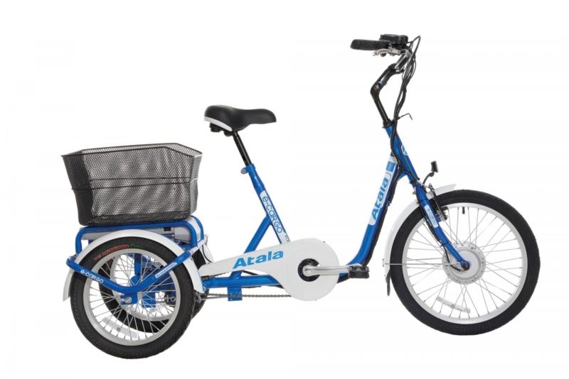 Bici A Pedalata Assistita Unisex Atala E Cargo Motore Brushless