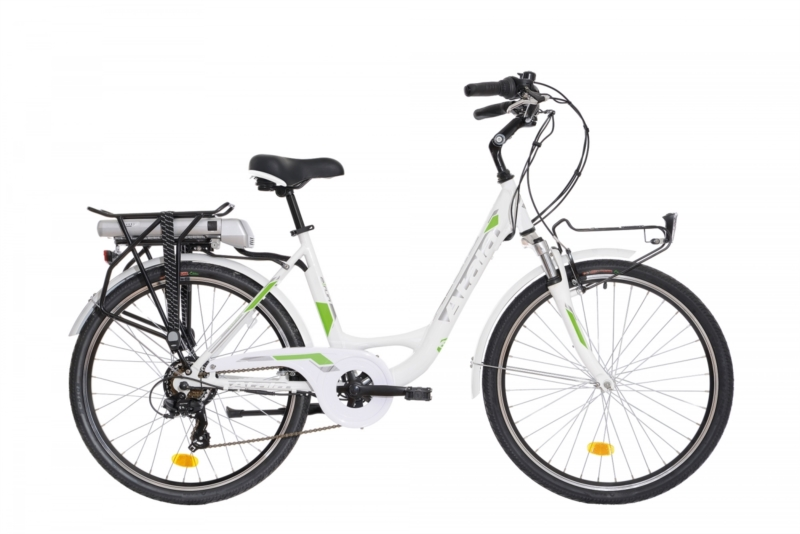 Bicicletta elettrica donna city E-Run fs