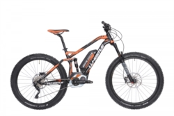 Bicicletta elettrica unisex mtb full B-RUSH PLUS  [whistle]